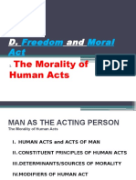 7. [CHAPTER2D] Freedom and Moral Act