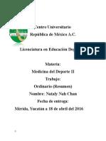 Anatomía Neuromuscular y Adaptaciones Al Entrenamiento PROYECTOORDINARIO