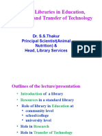 02-03 Role of Libraries