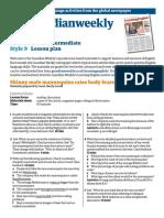The Guardian Weekly June 2010 lower intermediate