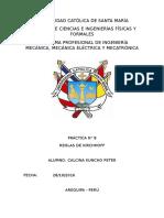 Informe N° 8 física
