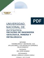 Geomecanica y Geotecnia