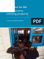 Brown Report on Education 2011