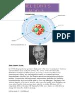 Bohr Atomic Model