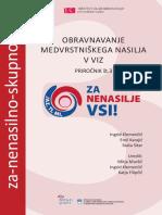 Obravnavanje medvrstniškega nasilja v VIZ - Priročnik št. 3