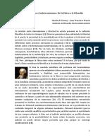 Vanney Franck 2013. Determinismo e Indeterminismo. de La Fisica a La Filosofia