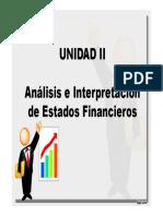 Unidad II Analaisi Financiero