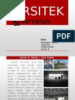 Kritik & Saran Arsitektur (Arsitek & Karyanya) TGS1