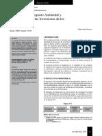 Evaluación Ambiental-proyectos Inversión Perú 2012