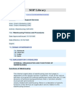 GM-WH07_Warehousing Policies and Procedures