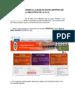 Biblioteca Virtual UCE