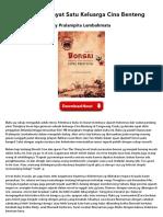 Bonsai - Hikayat Satu Keluarga Cina Benteng