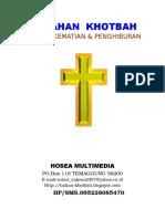 207958547 29 Bahan Khotbah Ibadah Kematian Dan Penghiburan