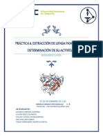PRÁCTICA 8 Bioquimica Clinica