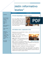 Boletín Informativo Teselas - 1