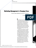 Marketing Management & Times