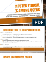 Computer Ethical Issues