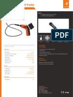 Endoscope industriel - ENDOSCAM® 9 mm