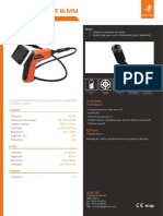 Endoscope industriel - ENDOSCAM® 16 mm
