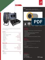 Caméra d'inspection de canalisation - TUBICAM® XL