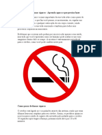 Como Parar de Fumar Cigarro - Aprenda Agora o Que Precisa Fazer