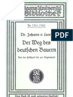 Johann Von Leers - Der Weg Des Deutschen Bauern - Von Der Fruehzeit Bis Zur Gegenwart (1935, 156 S., Scan, Fraktur)