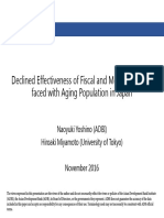 Declined Effectiveness of Fiscal and Monetary Policy