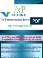 Clinical Supplies At VxP Pharma Ensuring All Dosage Forms