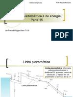 Parte 15 - Linhas Piezometrica e de Energia