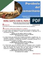HORA SANTA CON EL PAPA. Parábola Del Samaritano (17)