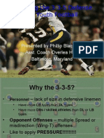 3-3-5 Defense for Youth Football