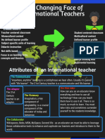 attributes of an international teacher