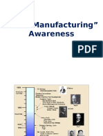 Lean Manufacturing - Awareness