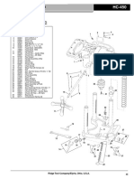 Ridgid HC-450 part list