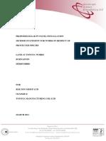 9 2011 0180 Method Statement