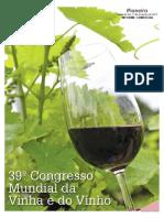 Caderno 39° Congresso Mundial da Vinha e do Vinho