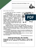 Ficha de Preparac3a7c3a3o Para o Teste Sumativo de Portugues
