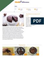 GZRic Torta Al Cioccolato