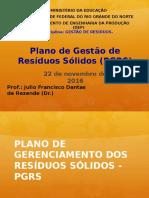 Aula de Gestao de Residuos - 22.11.16 - Pgrs