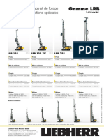 Liebherr Lrb Series Overview Piling and Drilling Rigs Francais