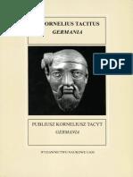 Publiusz Korneliusz Tacyt, Germania
