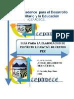 CEPADECE-Guia Elaboracion Proyecto Educativo de Centro