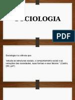 Sociologia - introdução