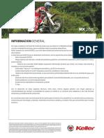 Ficha Tecnica - MX 260