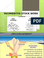 Yacimientos Stock Work