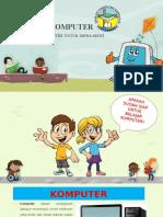 Materi Pengenalan Komputer Untuk Sekolah Dasar (SD)
