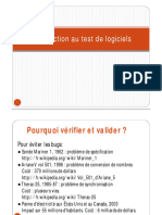 Introduction de SQ Test