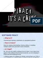 Types of Piracy