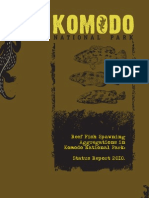 Reef Fish Spawning Aggregations In Komodo National Park - Status Report 2009
