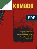 Surveillance and Enforcement in Komodo National Park - Long-term trends 1985 - 2009